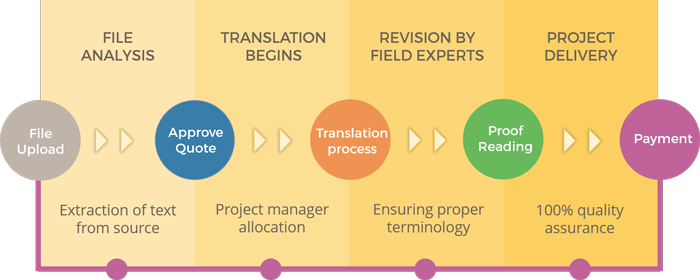 Magazine Translation Process
